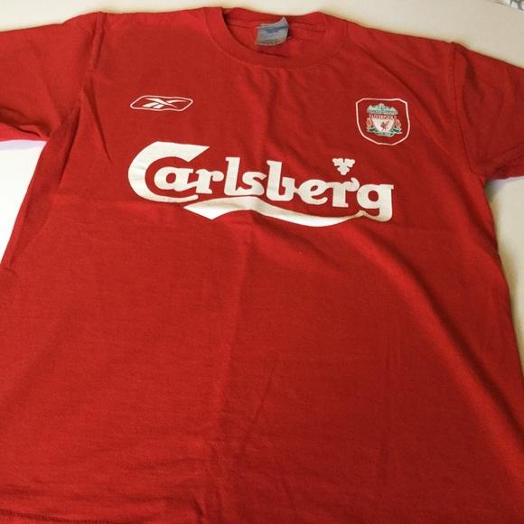 the latest ac2af eb22e Reebok Carlsberg Liverpool Football Cub Shirt